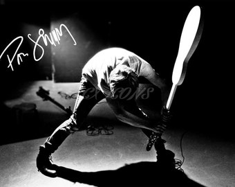 Paul Simonon (The Clash) signed photo print - 12x8 inch - high quality -