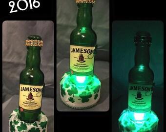 Mini Wine Bottle Jamesion Bottle Light