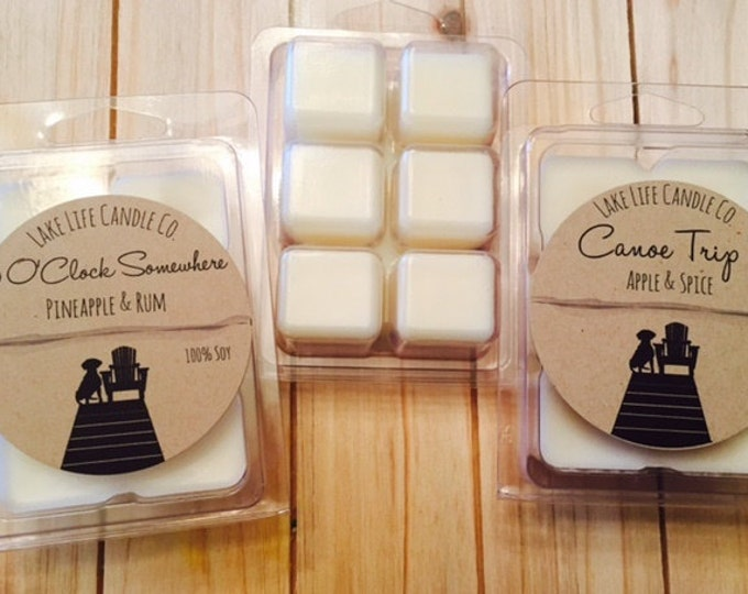 Soy Wax Melts from Lake Life Candle Co. Made in WI