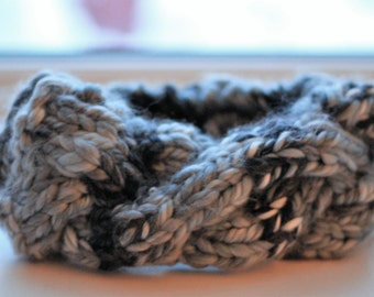 Super Bulky Cable Knit Headband