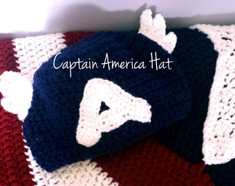 Children's Captain America Hat