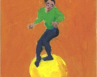 Cirque lunaire - Acrobate