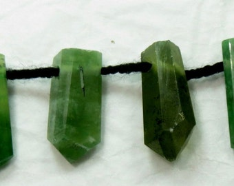 6 Pieces Hydrograsullar Garnet Crystals