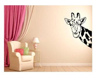 Giraffe Decal | Giraffe Wall Decal