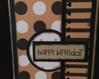 Happy Birthday Card ~ Handmade