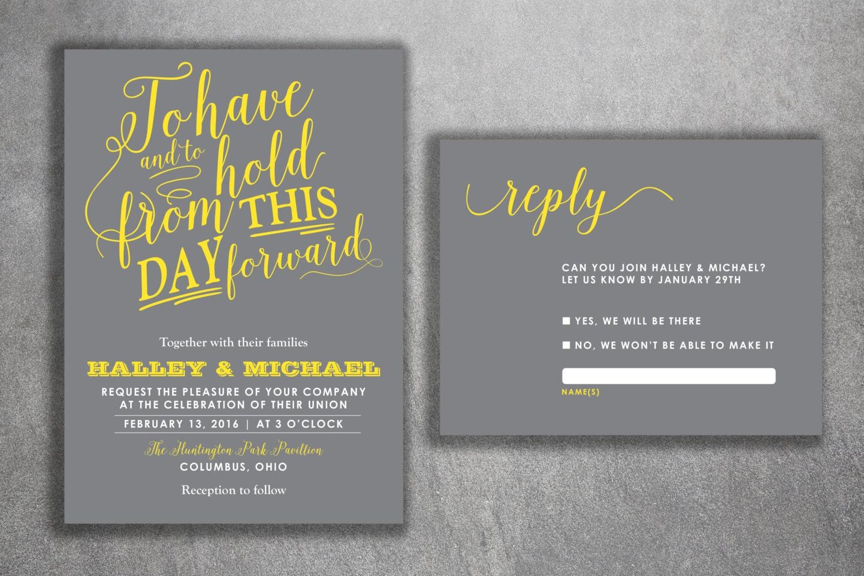 Bargain Wedding Invitations: Affordable Wedding Invitations Set Printed Cheap Wedding