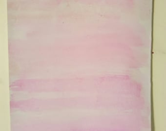 Watercolor - pink