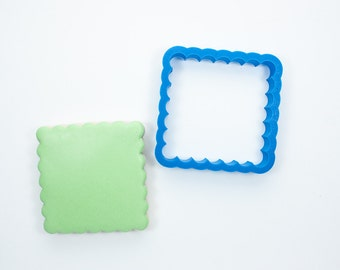 Scalloped Square Cookie Cutter