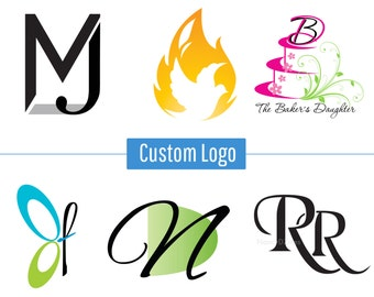 Custom Logo Design - Custom made logo design - Logo design - Logo for business - small business logo