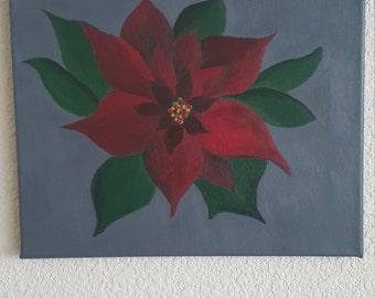The Christmas Poinsettia
