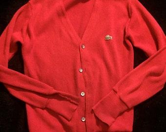 1950's/60's Mod Izod Cardigan