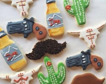 Rootin' Tootin' Arizona Cowboy - Sugar Cookies