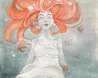 Goldfish Lady (Original)