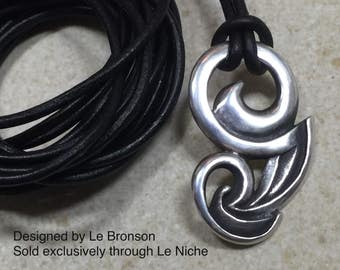 Sterling Silver Free-Flow pendant