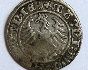 1/2 grosh of Lithuania of 1509