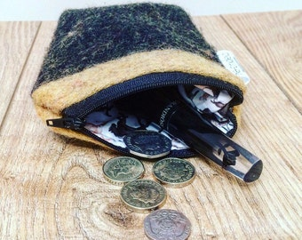 Coin purse, Horse Purse, Equine Gift, Horse Make Up Bag, Pony, Equine, Small Bag, Gift, Pouch, Bag, Re-bridled