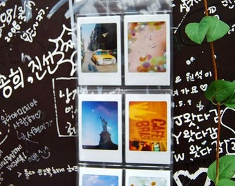 Wall or Foldable Pocket Photo frame for Instax Mini.