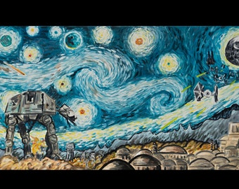 star wars starry night