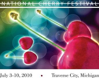 2010 National Cherry Festival Print