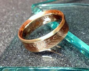 US Brass Dollar Ring