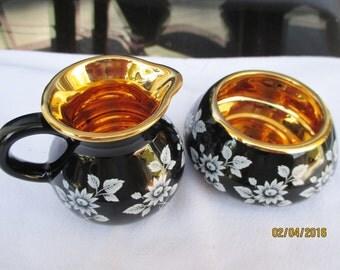 Prinknash Pottery Gold lusterware made by Prinknash Abbey Monks