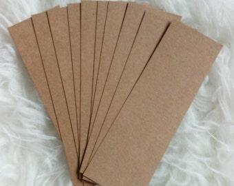 Kraft paper bookmark (free international shipping)