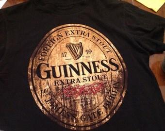 Guiness shirt -SM