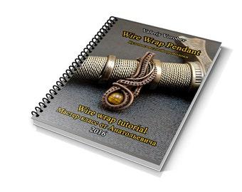 Wire wrap tutorial.  Wire Wrap Pendant. PDF