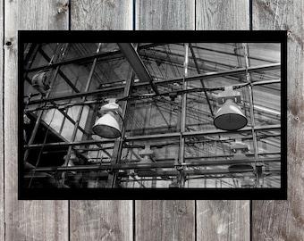 Industrial Art, Industrial Photography, Industrial Decor, Urban Photo, Urban Decor, Architecture Photo, Building Photo, Printable Wall Decor