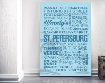 St. Petersburg Themed Canvas