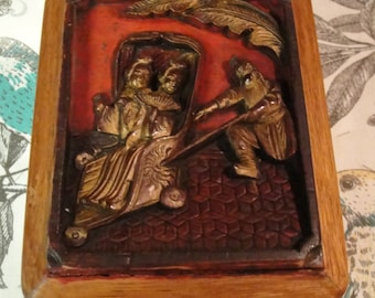 Asian Carved Box