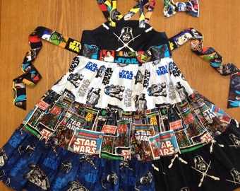 STAR WARS Dress - Custom Boutique