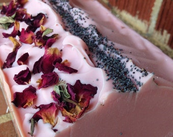 Handmade Soap- Tea Time Soap- Bar Soap- Soap- Vegan Soap