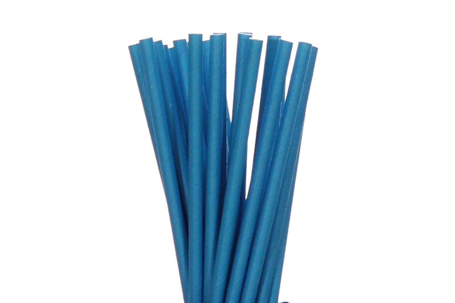 Paper Straws Bright Blue Paper Straws Solid Blue Baby Shower