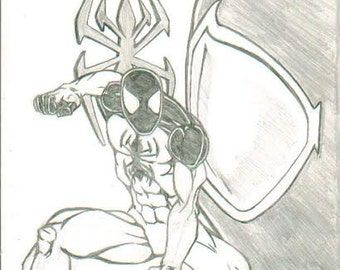 Scarlet Spider (2012) #1 from Marvel with cover art by Brad Linder one-of-a-kind #CBC4C