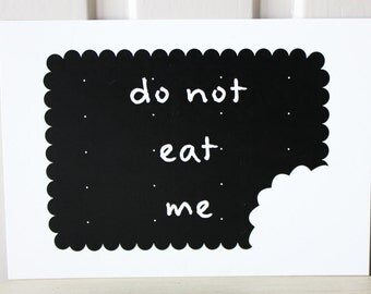 SALE - Funny card, funny lovecard, funny greeting card, funny birthday card, anniversary card, cookie, quote card, black and white
