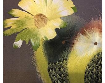 100% handmade embroidery