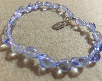 Bracelet beads glass Venetian 5-6 mm - adult - unique model
