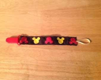 Mickey Mouse pacifier clip
