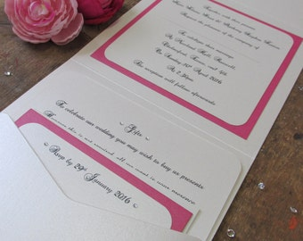 Give you my heart wedding invitation