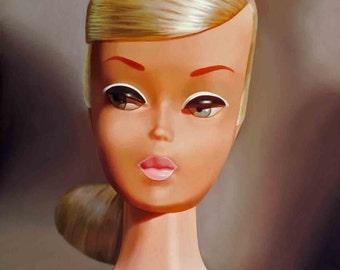 Platinum Swirl Barbie