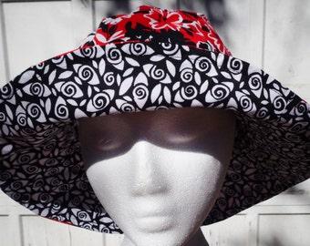 Women's Sun Hat 3 reversible bucket hat women beach hat ready to ship