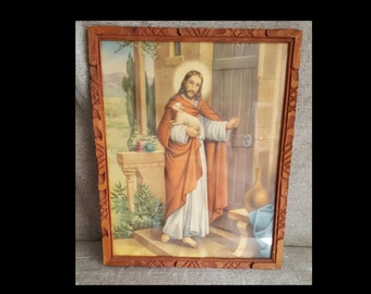 Vintage 'The Good Shepherd' Print