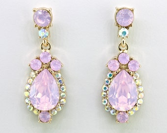 Pink prom jewelry   Etsy