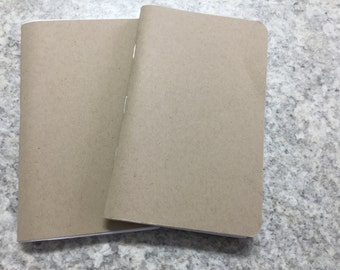 Set of two pocket notebooks