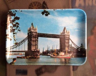Melamine Souvenir Tray - London Bridge, Novelty Tray, Tip Tray, Presentation Tray, London Souvenir