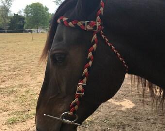 Paracord Headstall Horse