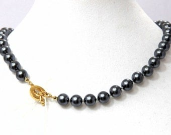 Carollee Single Knotted Glass Freshwater Pearls