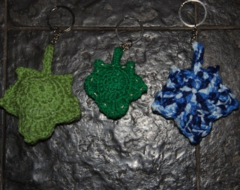 Keychain with maple leaf!