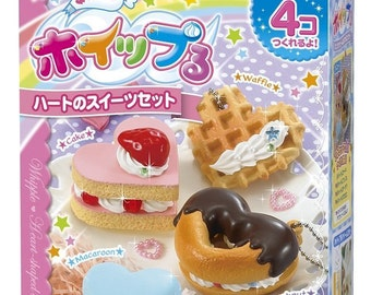 "Whipple Fake Sweets Making Kit,""Heart Sweets Fake Sweets Making Kit W-38 """
